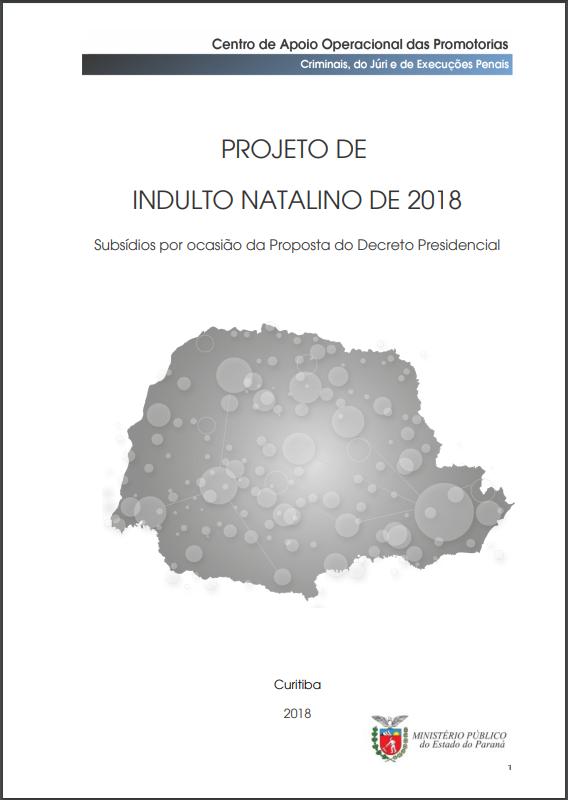 Estudo Indulto Natalino 2018