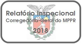 Relatório Inspecional CGMPPR 2018